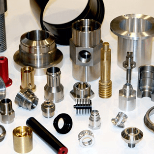Variety of turmed parts